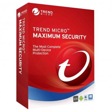 Trend Micro Maximum Security 3 Geräte Multi Device Download Aktivierungsschlüssel
