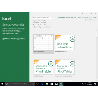 Microsoft Office 2016 Professional Plus Produktschlüssel Key Download